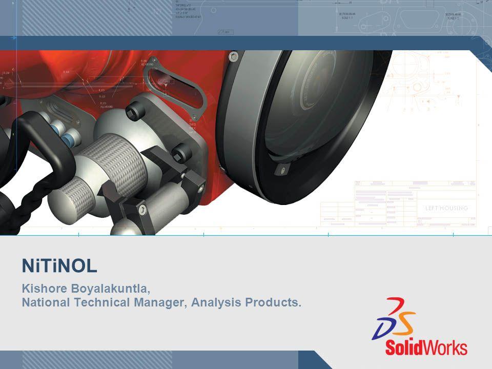 Kishore Boyalakuntla, National Technical Manager, Analysis Products.