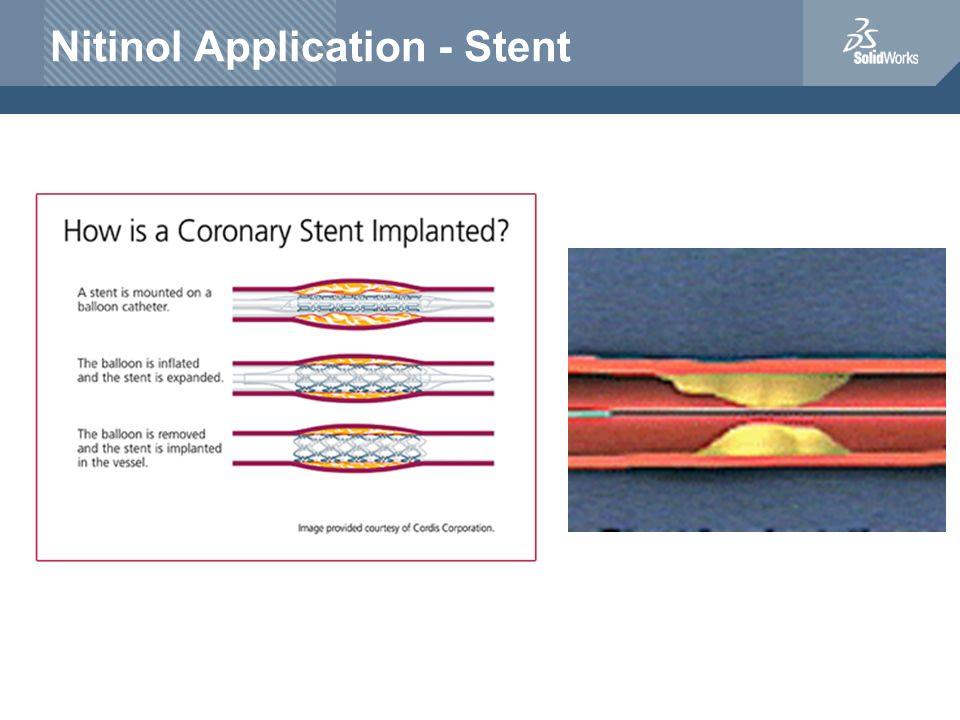 Nitinol Application - Stent