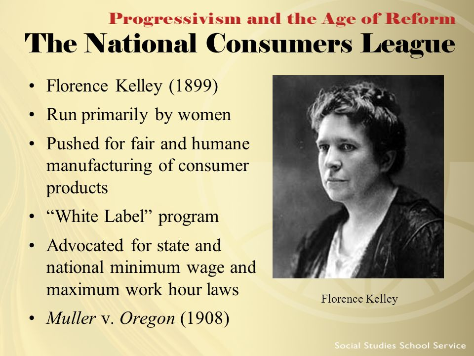 The National Consumers League