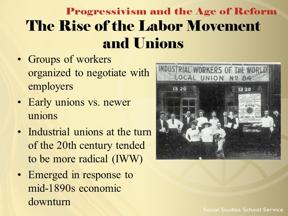 early strikes of the american labor movement A short history of american labor the leadership of the early labor movement showed a keen awareness while the national 8-hour-day strike movement was.