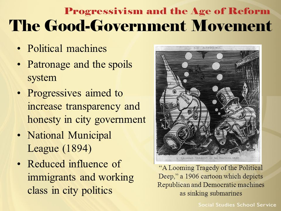 The Good-Government Movement