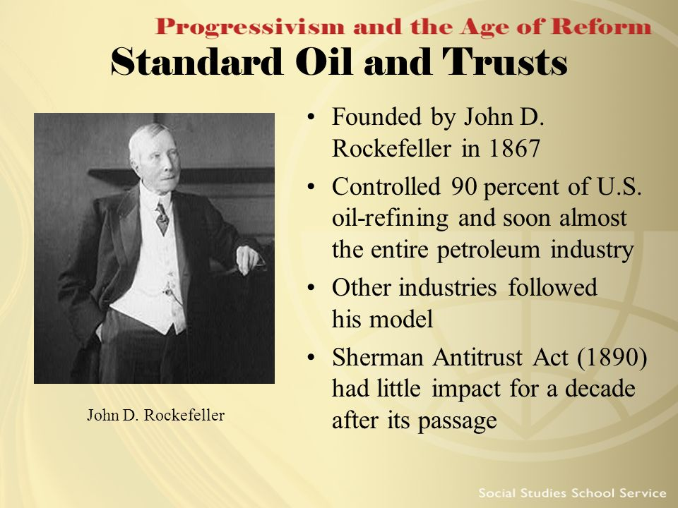Standard Oil and Trusts
