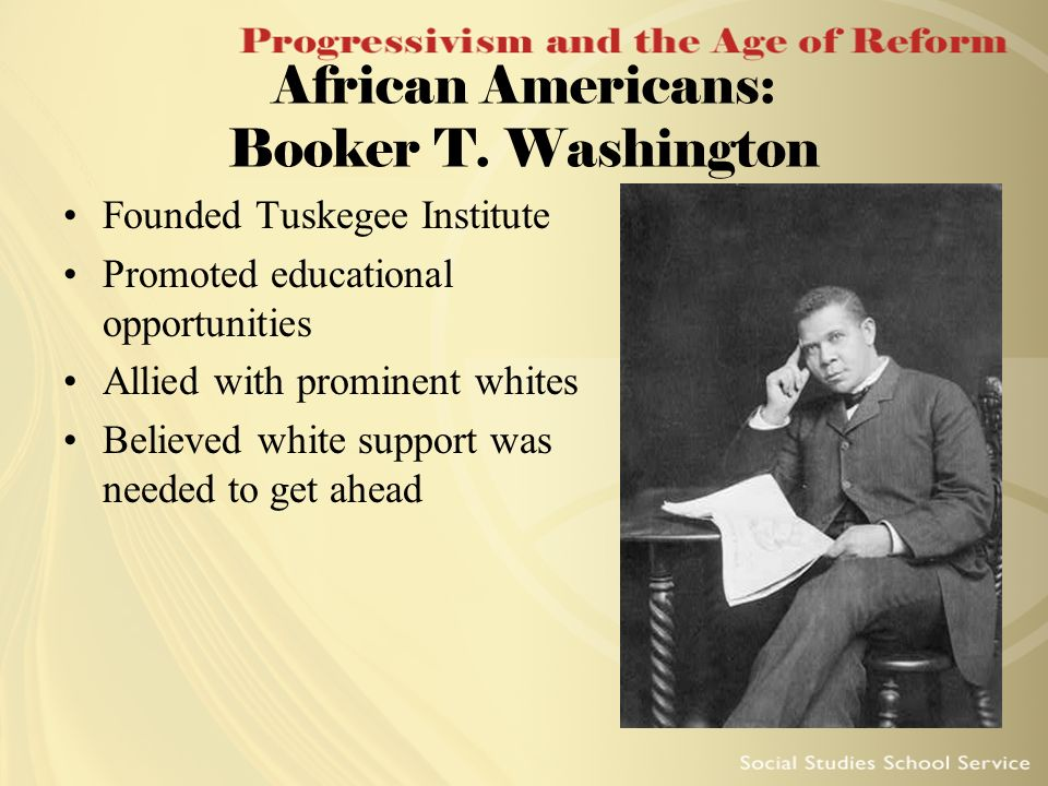 a biography of booker t washington an african american educator This biography, written by booker t washington, one of most important post-civil war african-american thinkers, is an account of the life and career of frederick douglass.