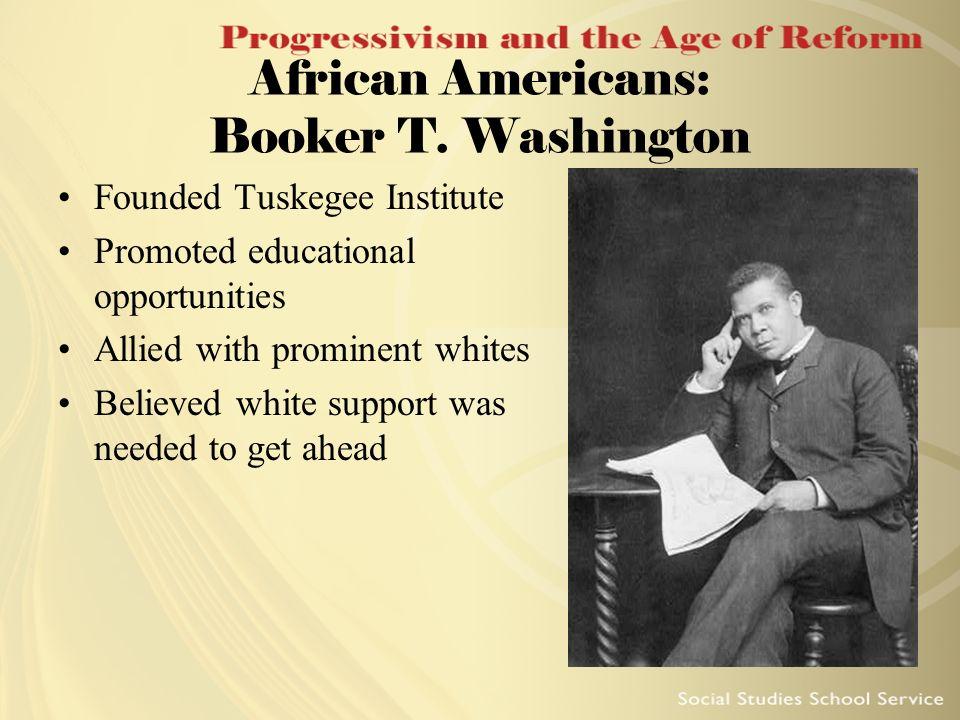 African Americans: Booker T. Washington