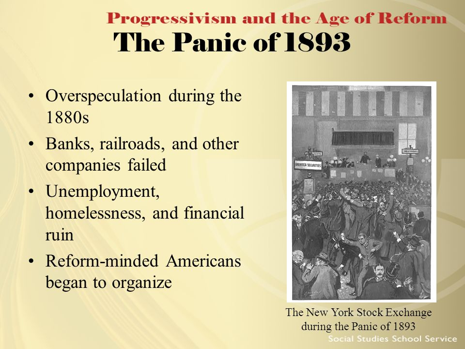 The New York Stock Exchange during the Panic of 1893