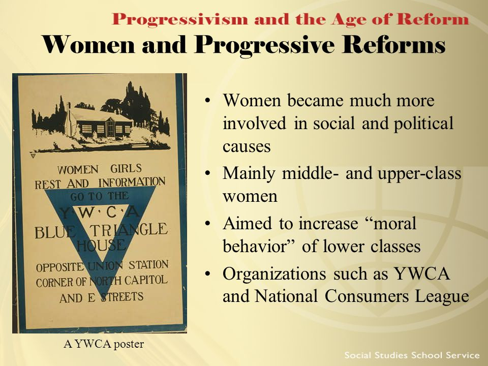 Women and Progressive Reforms