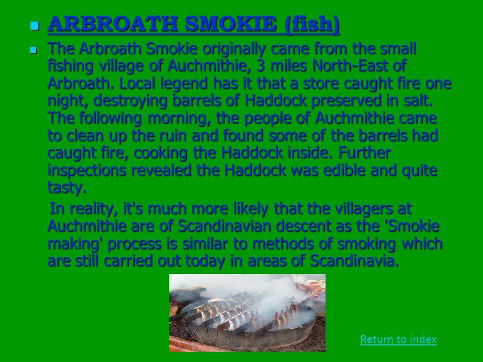 ARBROATH SMOKIE (fish)