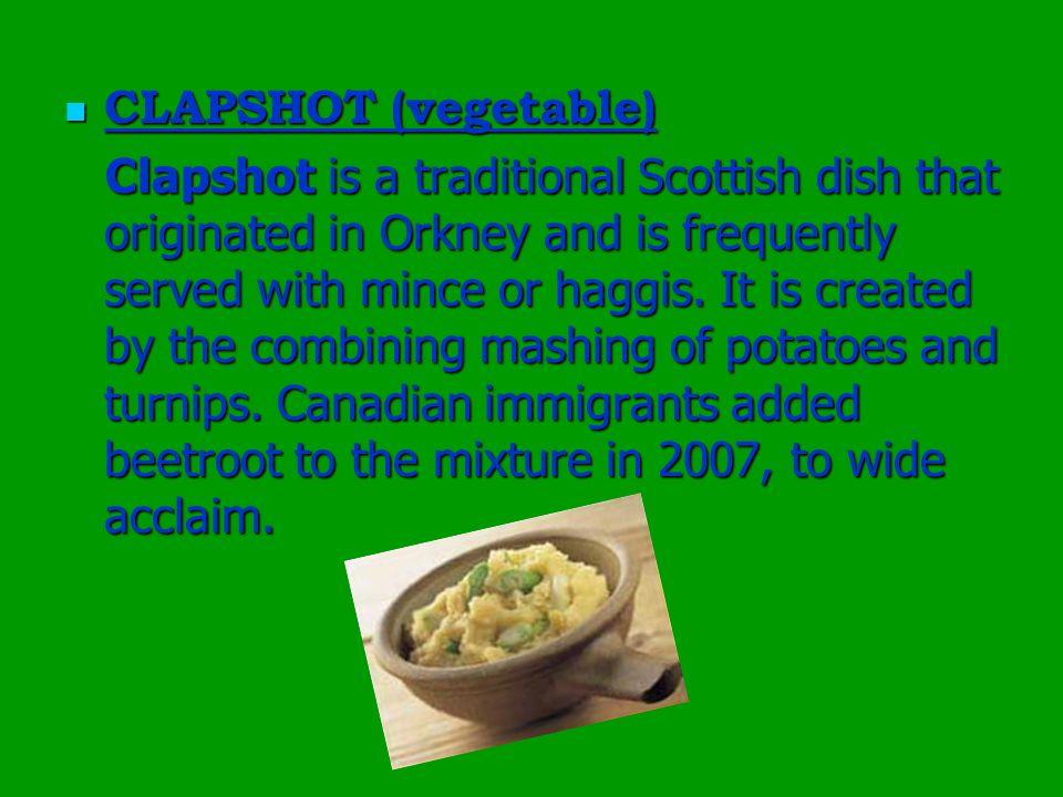 CLAPSHOT (vegetable)