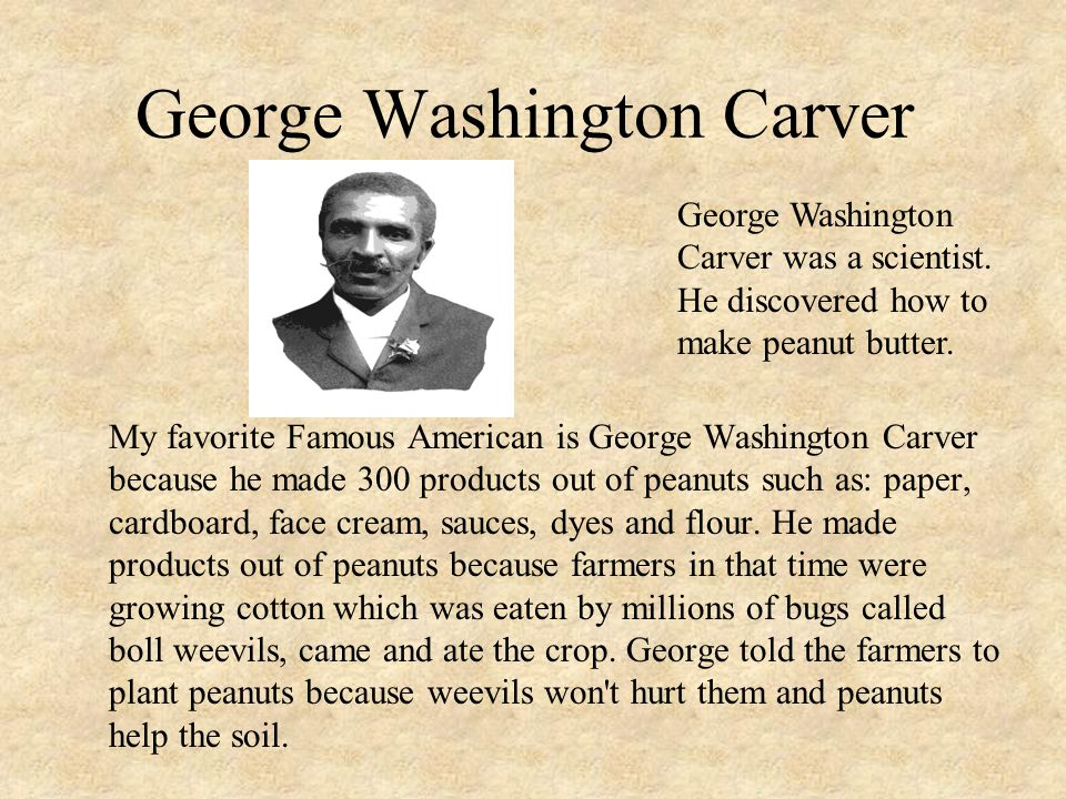 george w carver essay Carver, george washington george washington carver eds guide to the microfilm edition of the george washington carver papers at tuskegee institute.