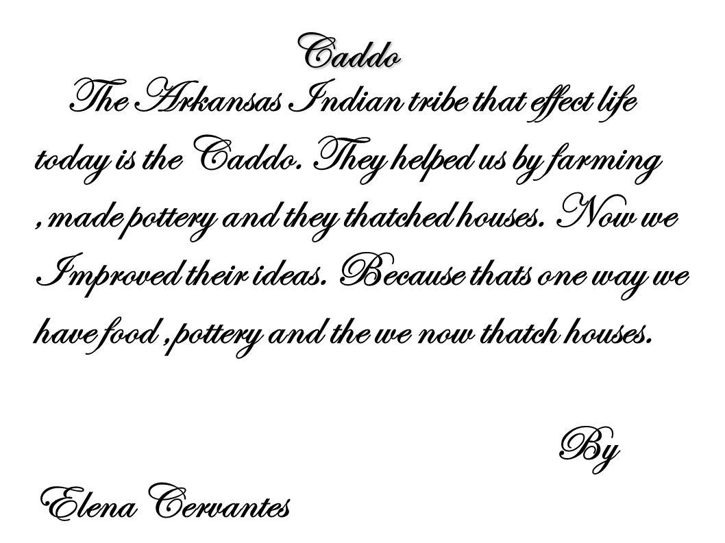Caddo By Elena Cervantes