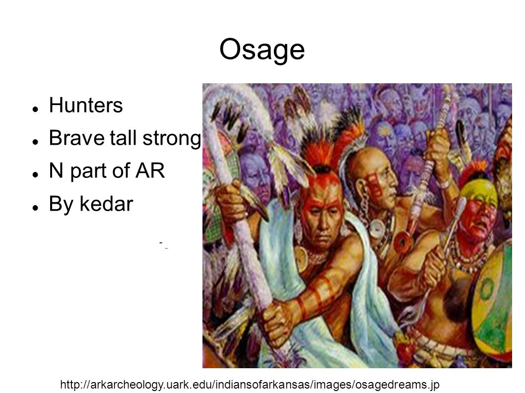 Osage Fontwork Hunters Brave tall strong N part of AR By kedar
