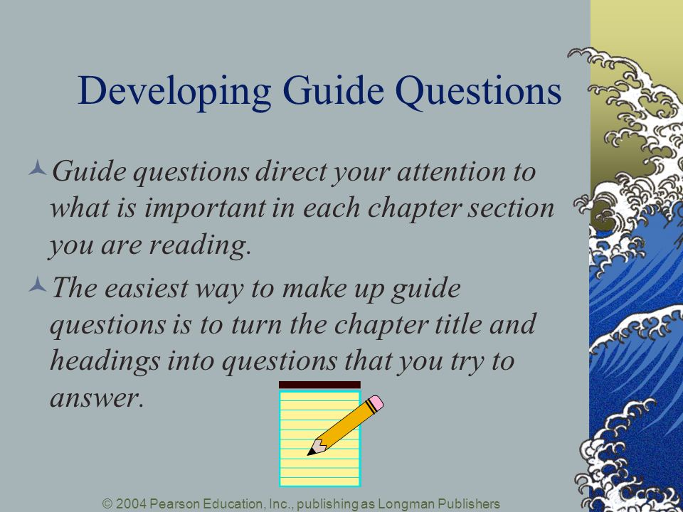 Developing Guide Questions