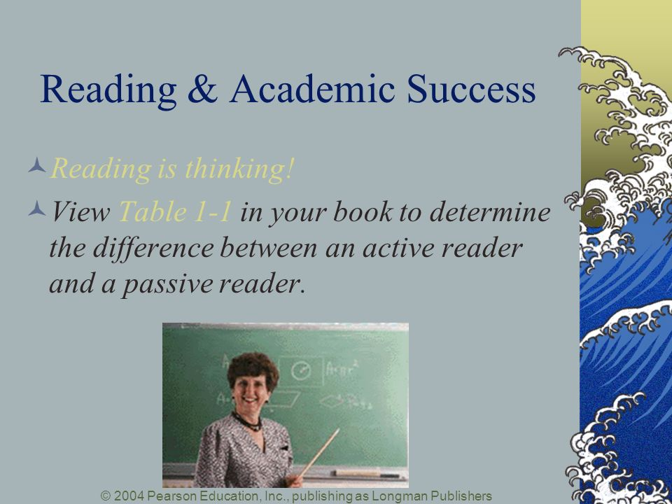 Reading & Academic Success