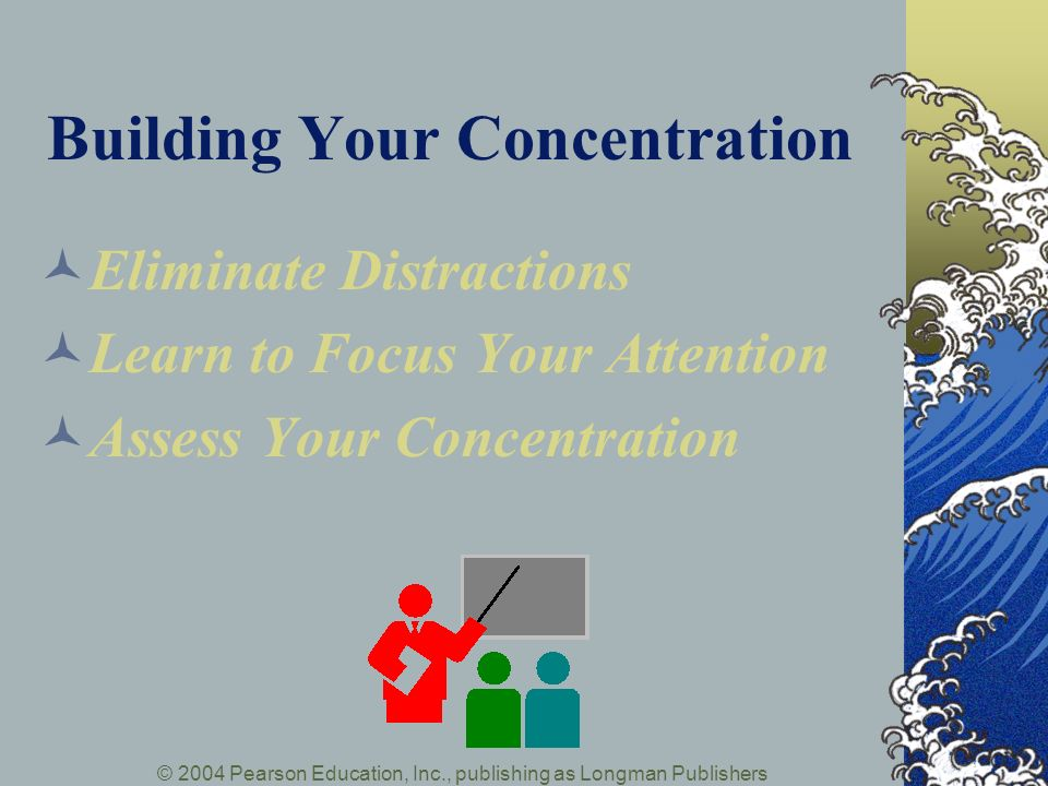 Building Your Concentration