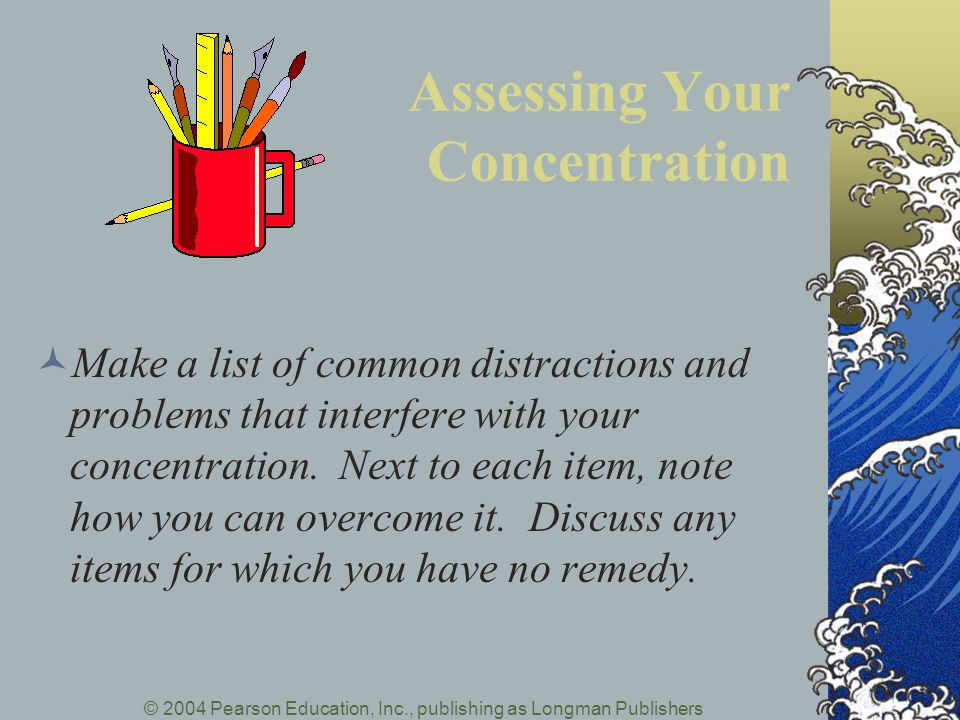 Assessing Your Concentration