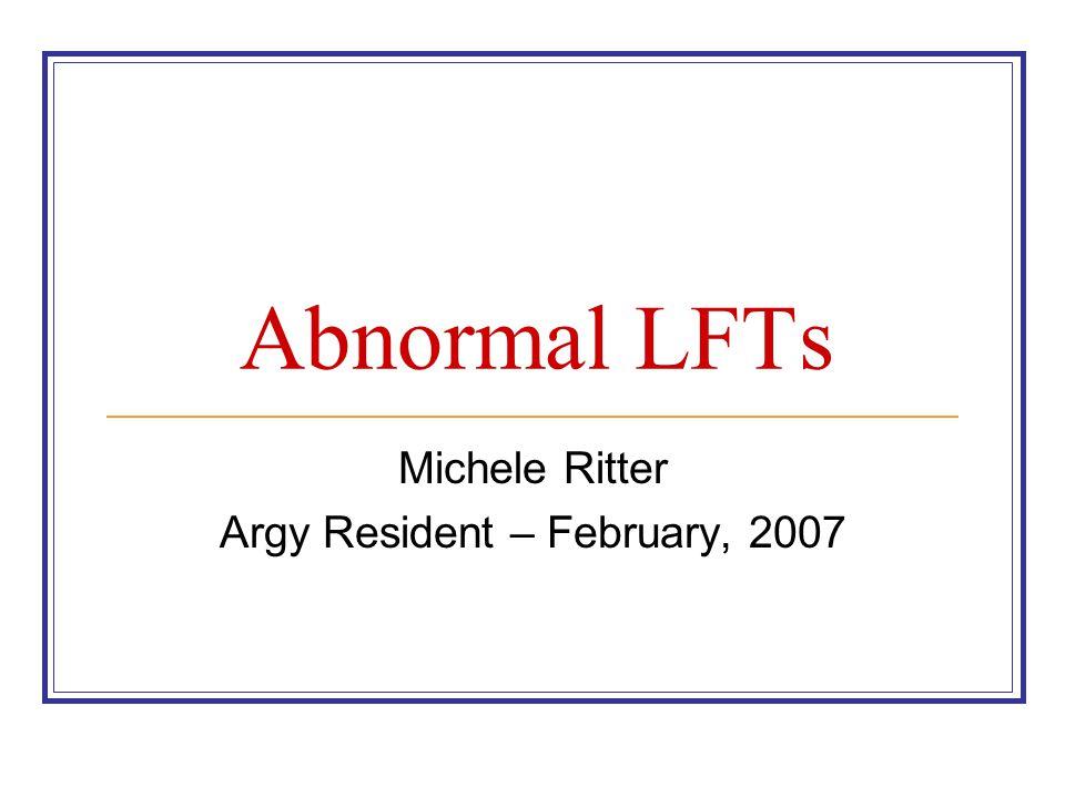 Michele Ritter Argy Resident – February, 2007