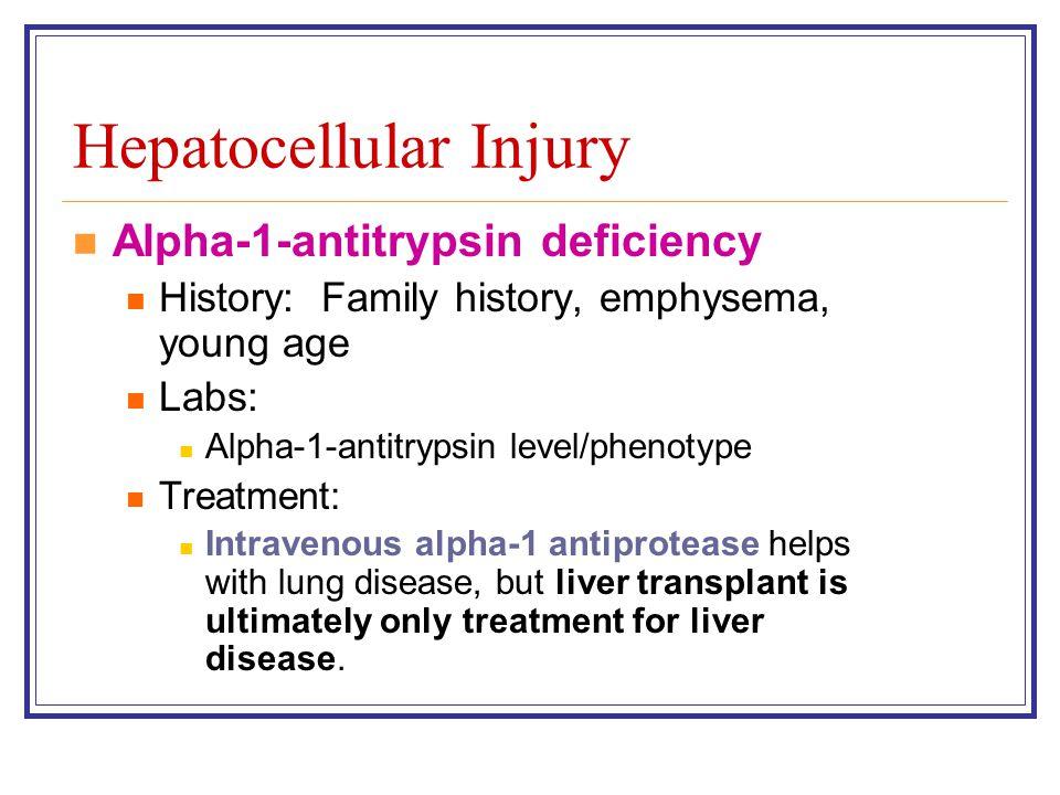 Hepatocellular Injury