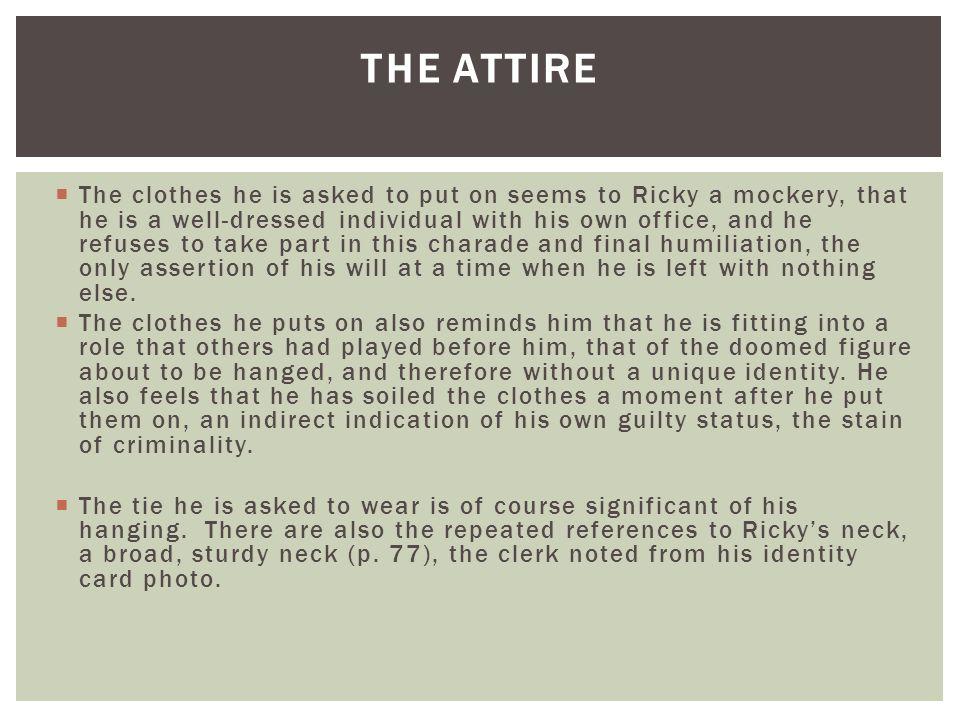 The attire