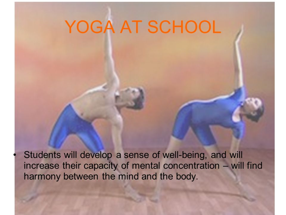 YOGA AT SCHOOL