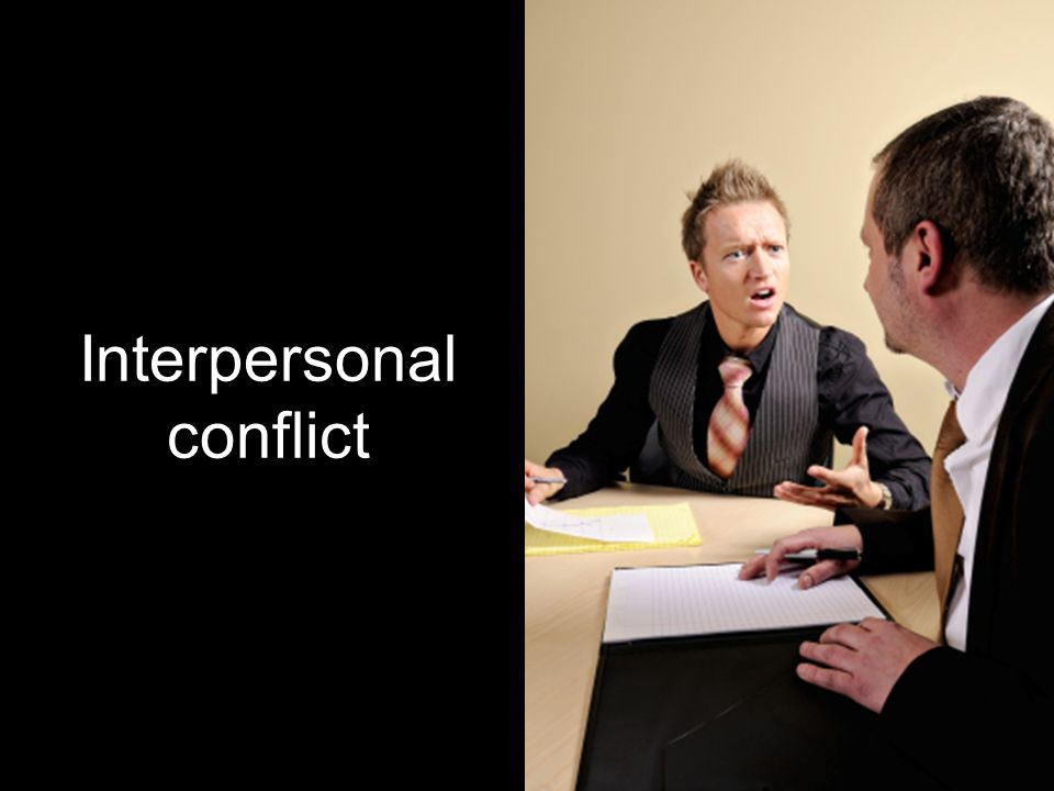 interpersonal conflict at workplace is limited Interpersonal conflict at workplace is limited 1480 words | 6 pages nurse works with these groups of individuals, he or she may experience an interpersonal conflict with any of them.