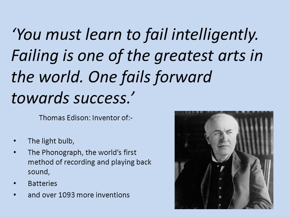 Thomas Edison: Inventor of:-