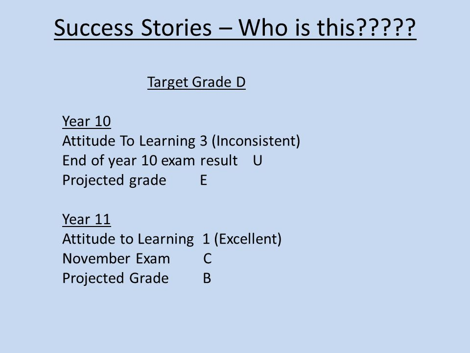 Success Stories – Who is this