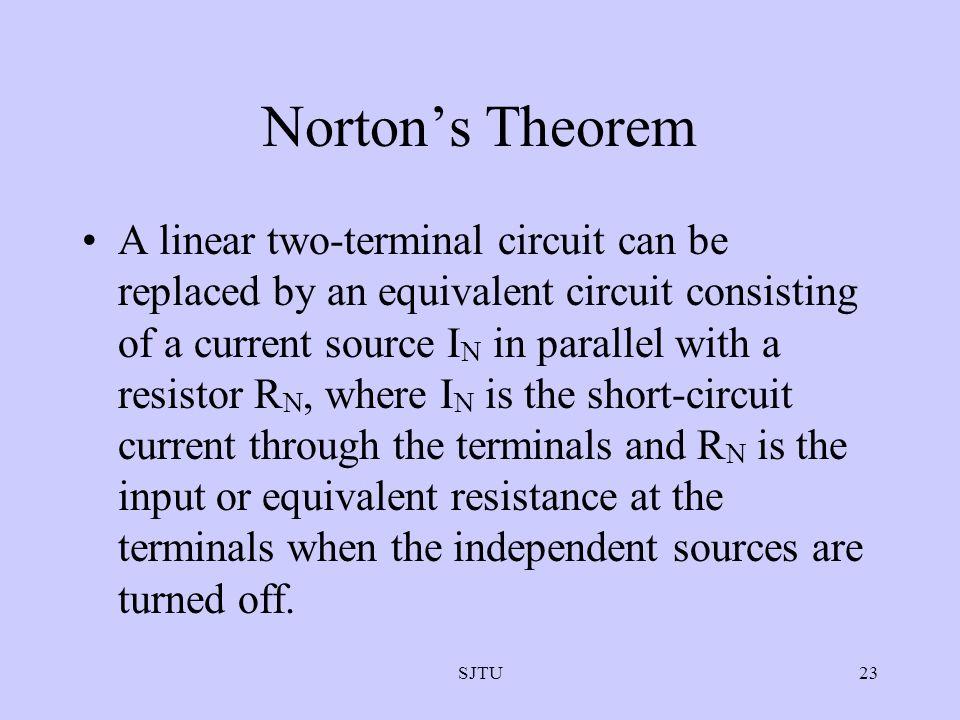 Norton's Theorem