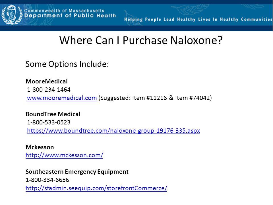 Where Can I Purchase Naloxone