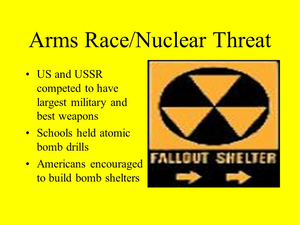 Arms Race/Nuclear Threat