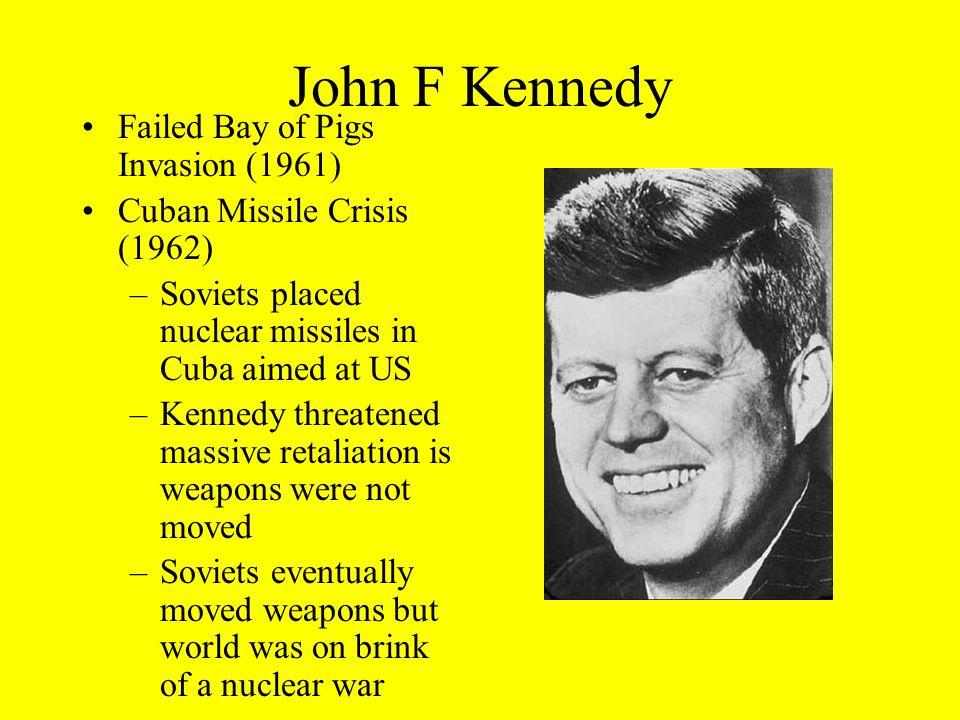John F Kennedy Failed Bay of Pigs Invasion (1961)