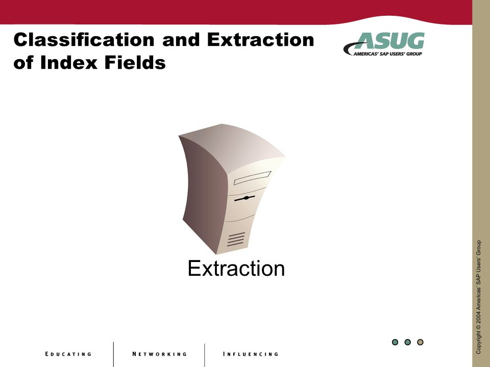 Classification and Extraction of Index Fields