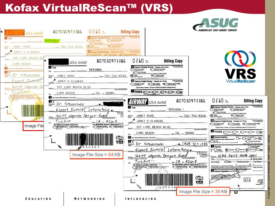 Kofax VirtualReScan™ (VRS)