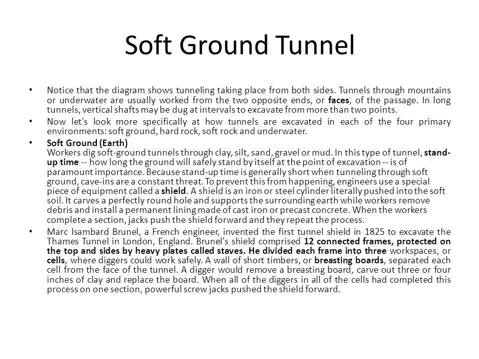 Soft Ground Tunnel