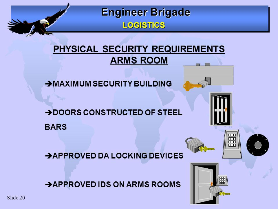 PHYSICAL SECURITY REQUIREMENTS