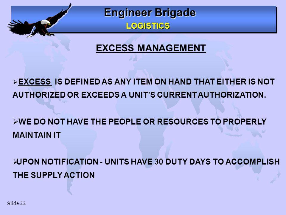 Excess Equipment Management