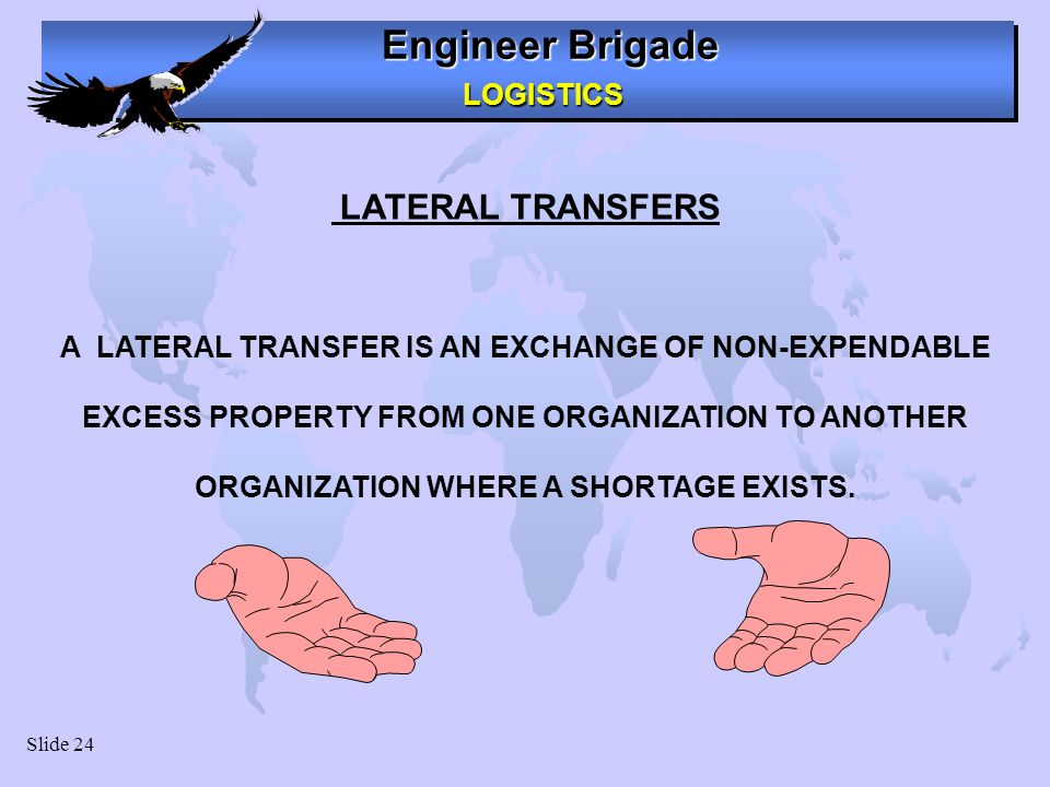 A LATERAL TRANSFER IS AN EXCHANGE OF NON-EXPENDABLE