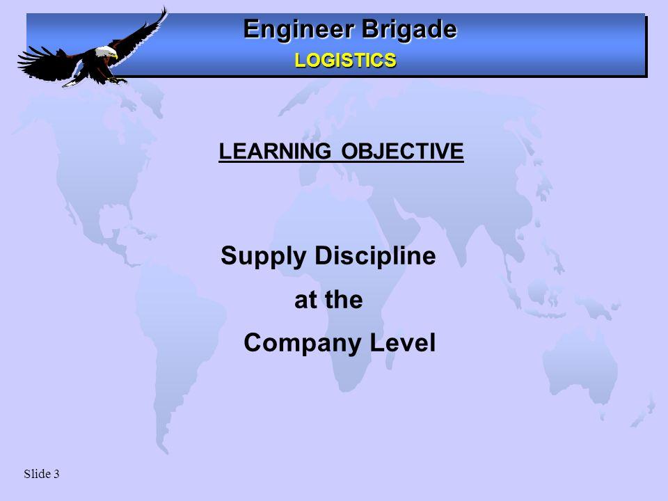 Ensuring supply discipline at Unit Level