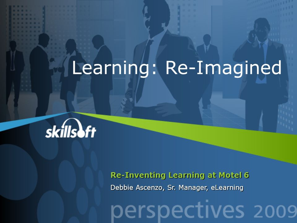 Learning: Re-Imagined