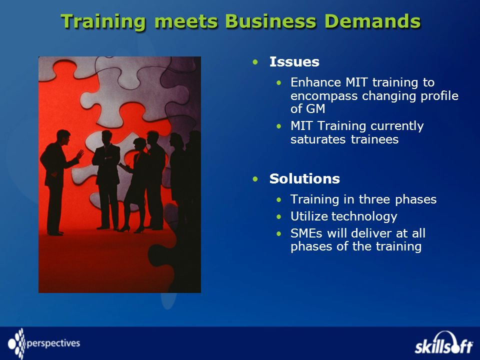 Training meets Business Demands