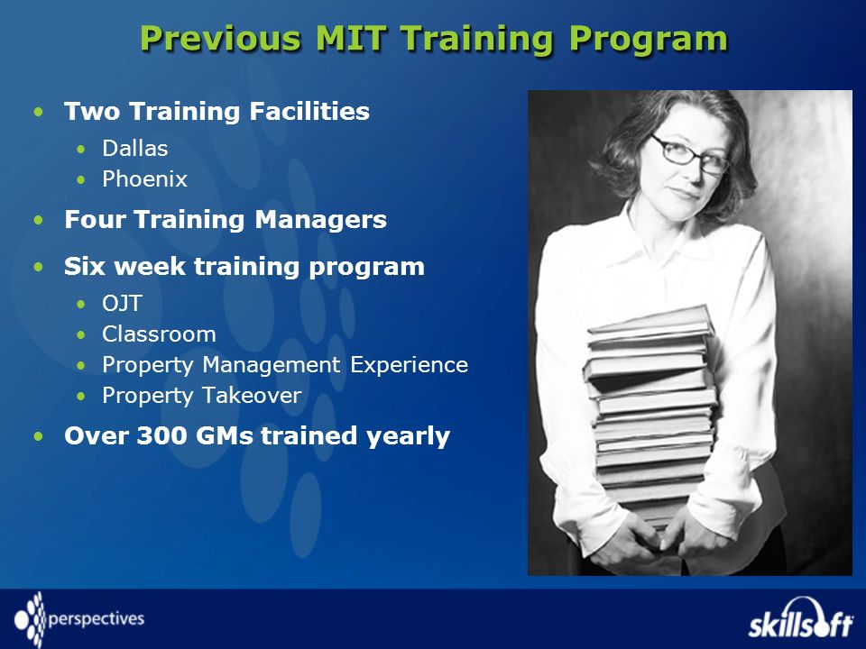 Previous MIT Training Program