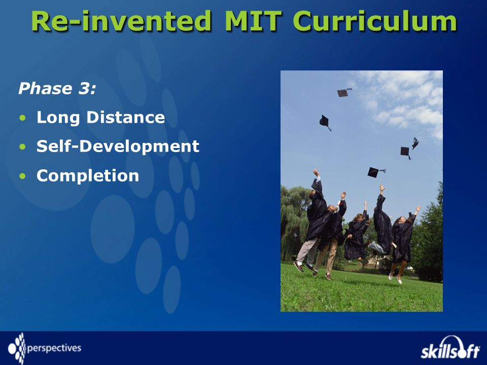 Re-invented MIT Curriculum