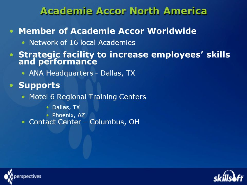 Academie Accor North America