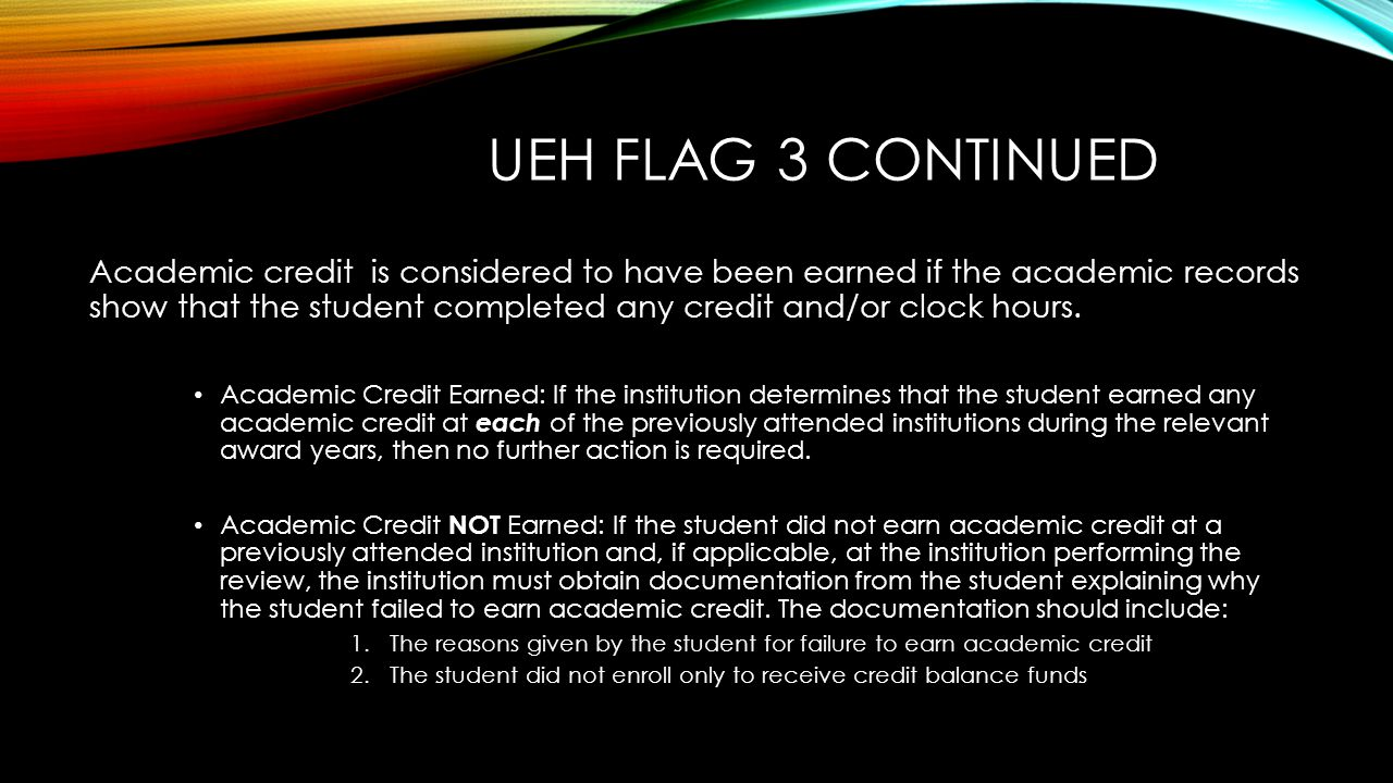 Ueh flag 3 continued