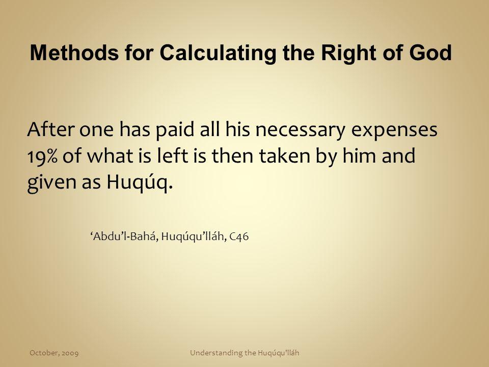 Understanding the Huqúqu lláh