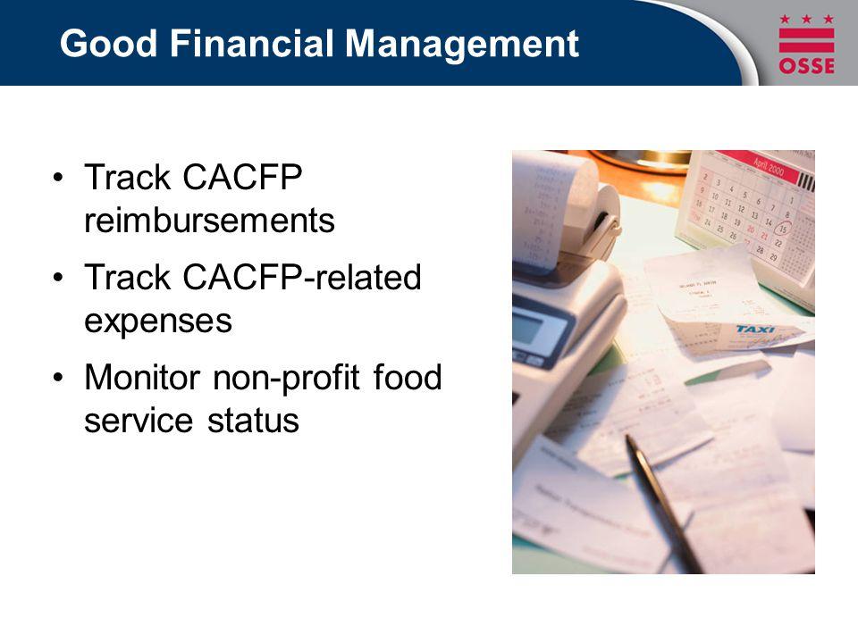 Good Financial Management