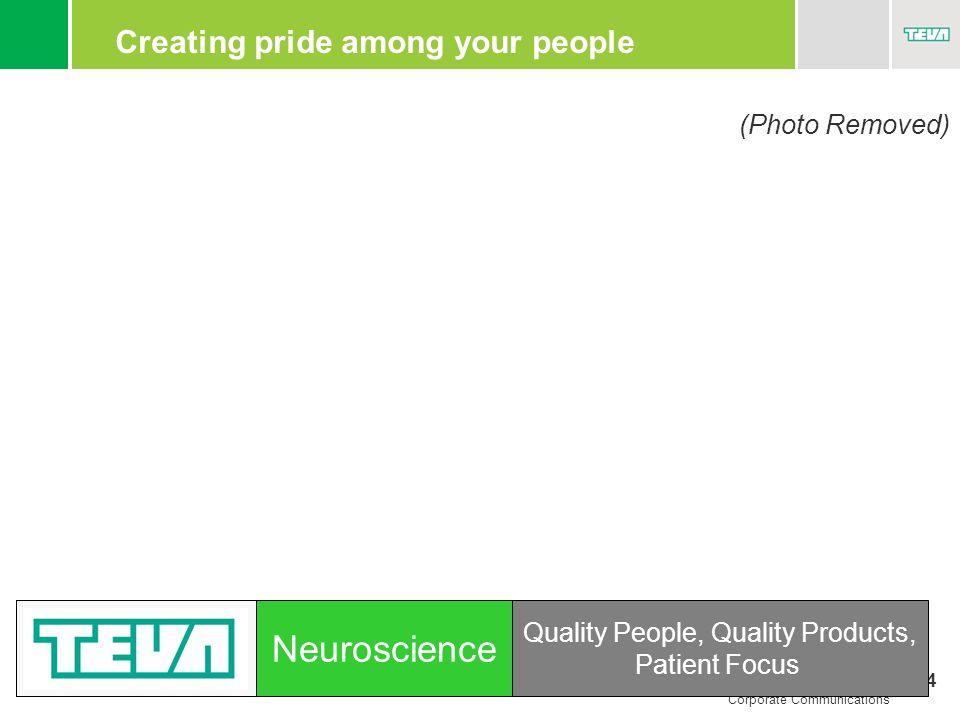 Creating pride among your people