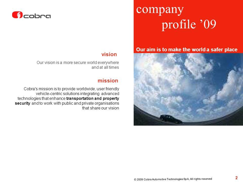 company profile '09 vision mission