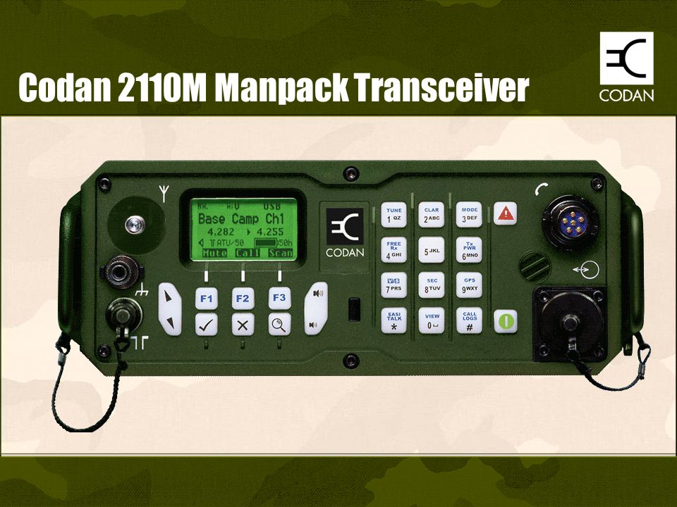 Codan 2110M Manpack Transceiver