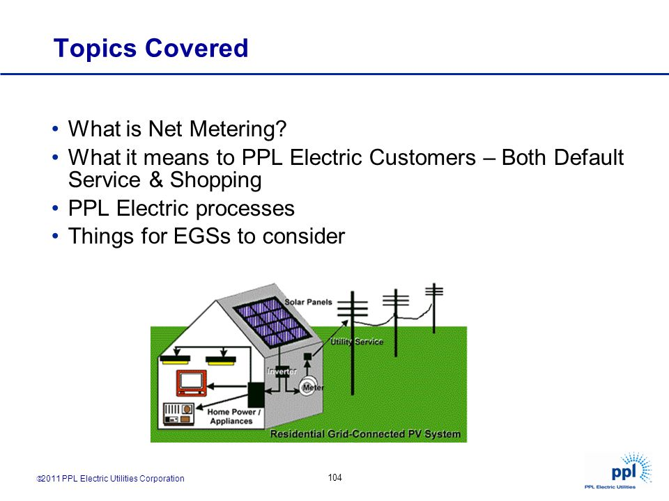 Topics Covered What is Net Metering