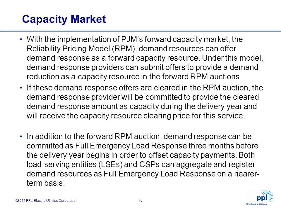 Capacity Market